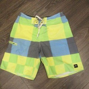 Rusty Men's Board Shorts Patchwork Size 30